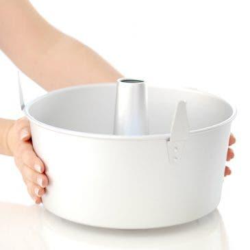Cómo se usa el molde para Angel Food Cake