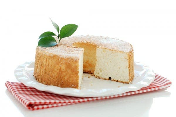 Angel Food Cake en Thermomix ® Tm5, así queda el corte