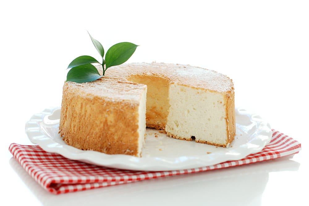 Angel Food Cake en Thermomix ® Tm5, así queda el corte
