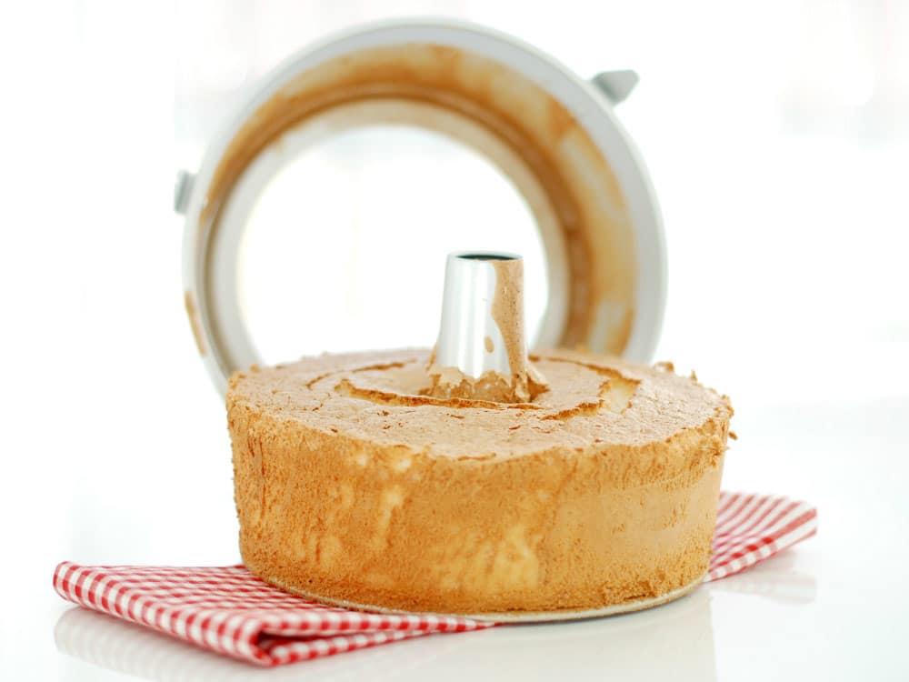 Así me ha quedado el bizcocho de Angel Food Cake en Thermomix ® Tm5