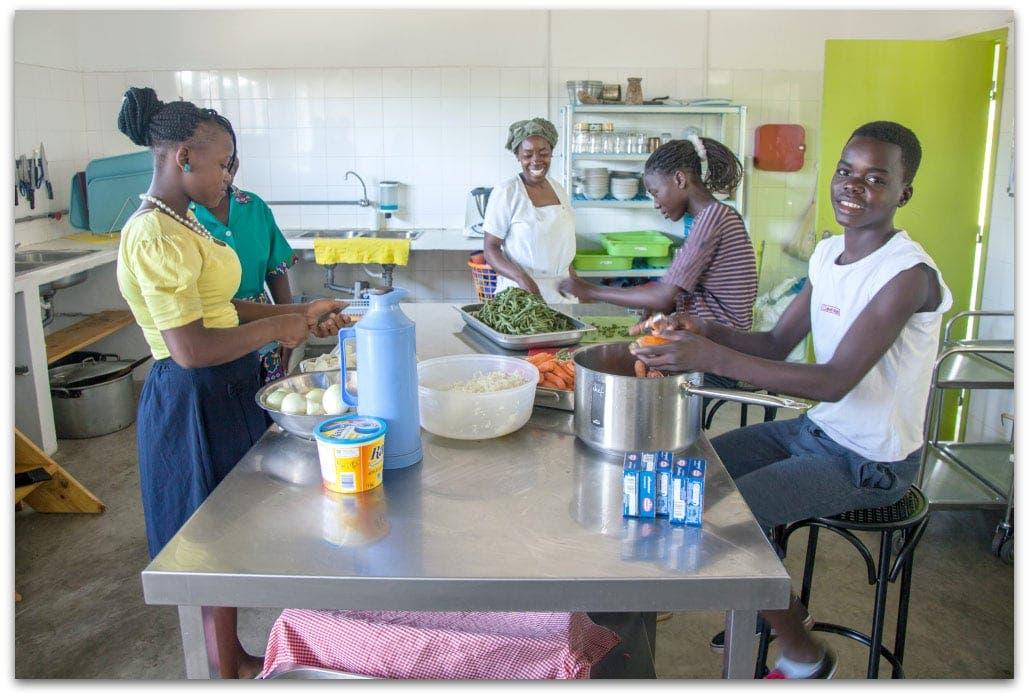 Khanimambo, nuevo centro nutricional