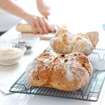 Pan de soda, un pan rápido con bicarbonato