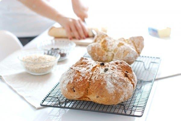 Pan de soda o bicarbonato