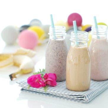 Smoothies de sabores para tus desayunos