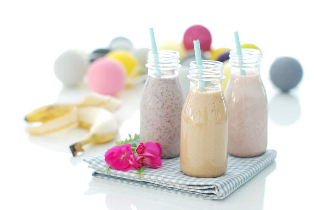 Smoothies de frutas