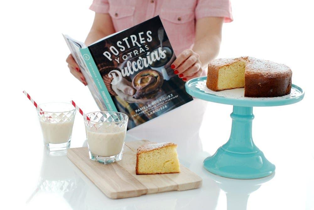 """Bizcochón de Pam, de su libro """"Postres y otras dulcerías"""""""