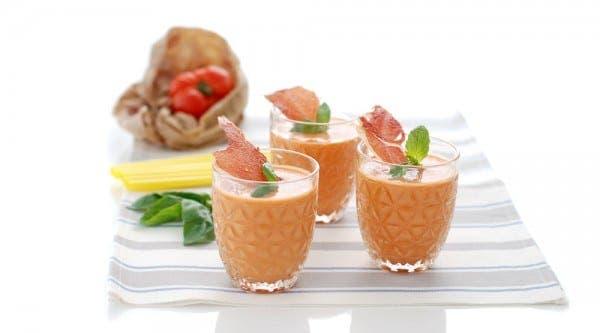 Gazpacho tradicional en Thermomix ®