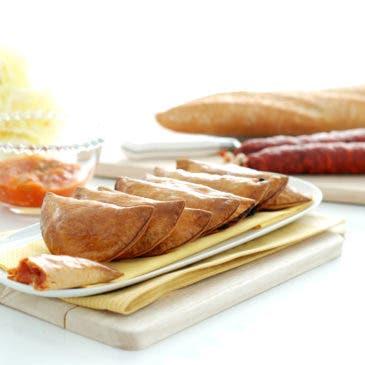 Empanadillas fáciles, al horno