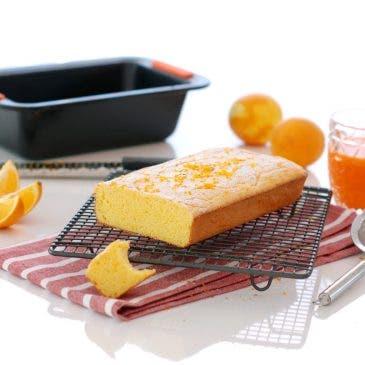 "Bizcocho de naranja ""sin gluten"""