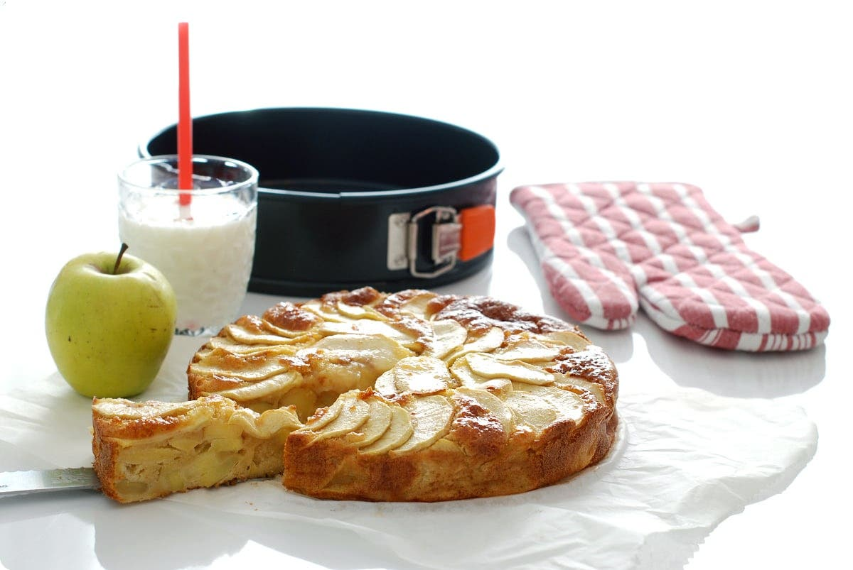 Tarta Twin apple