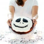 Tarta para Halloween: Jack Skeleton