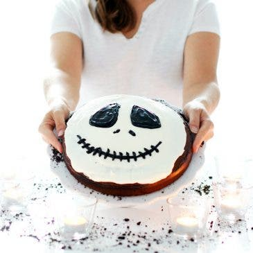 Tarta Jack Skeleton con Thermomix®
