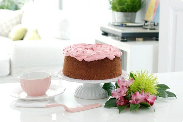 Chiffon cake de chocolate con buttercream en Thermomix ®