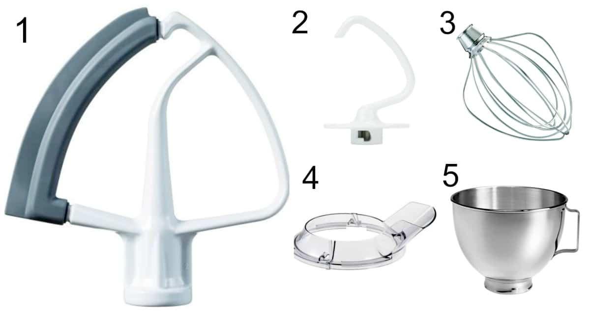 Accesorios básicos del KitchenAid® de Artisan