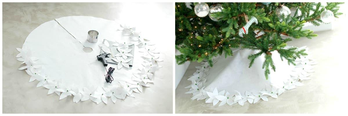 Alfombra De Fieltro Para El Arbol De Navidad Velocidad Cuchara