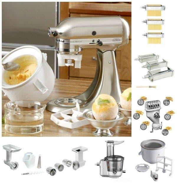 Estos son algunos de los accesorios para KitchenAid®