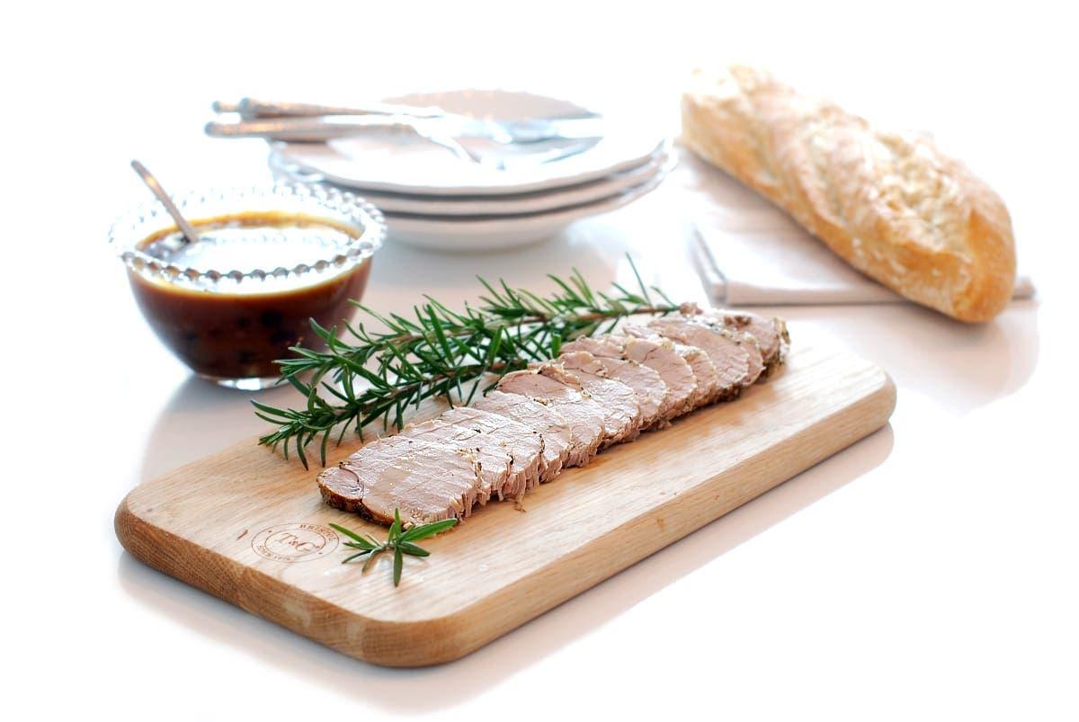 Lomo o solomillo a la sal con hierbas provenzales