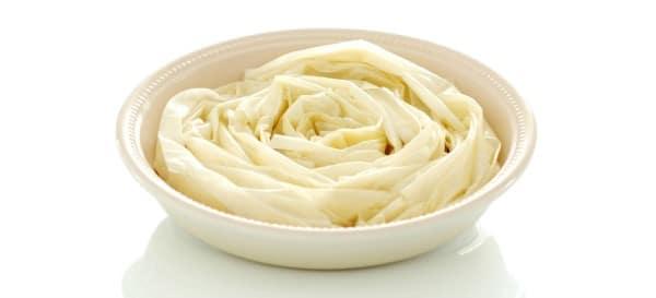 Ruffled milk pie, antes del primer horneado