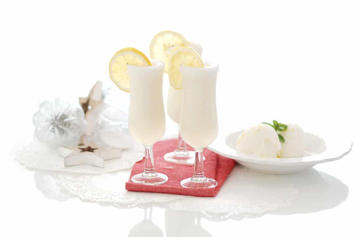como hacer sorbete de limon sin alcohol