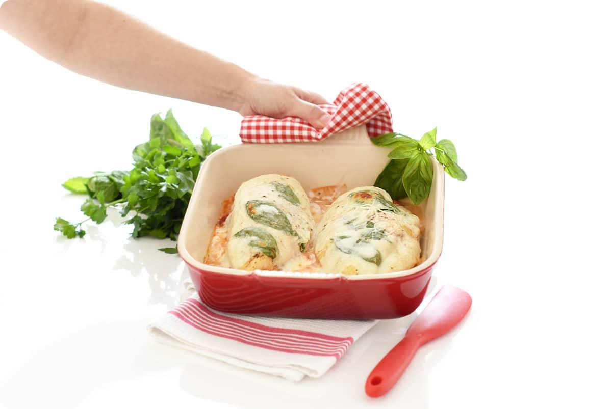 Pollo margarita al horno, que fácil