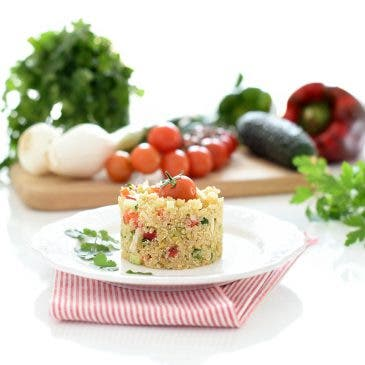 Ensalada de Quinoa tabulé, sin gluten