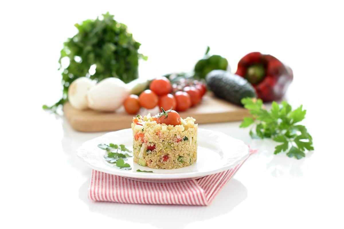 Ensalada de quinoa tabulé con Thermomix®