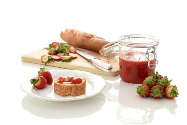 Mermelada de fresas sin azúcar, con Thermomix®
