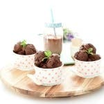 Helado de chocolate negro con Thermomix®