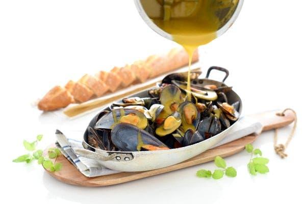 Mejillones en salsa picante, al estilo de Zamora, con Thermomix®