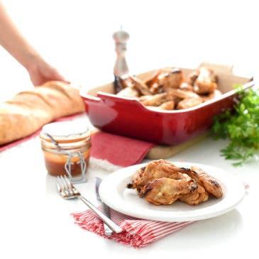 Alitas de pollo picantes: Buffalo wings
