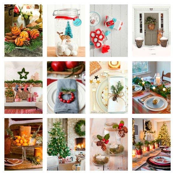 Para preparar la mesa en Navidad