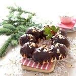 Roscón con relleno de chocolate en Thermomix®