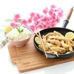 Pollo al limón, estilo chino con Thermomix®