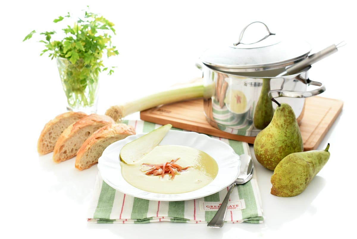 Vichyssoise con peras en Thermomix®