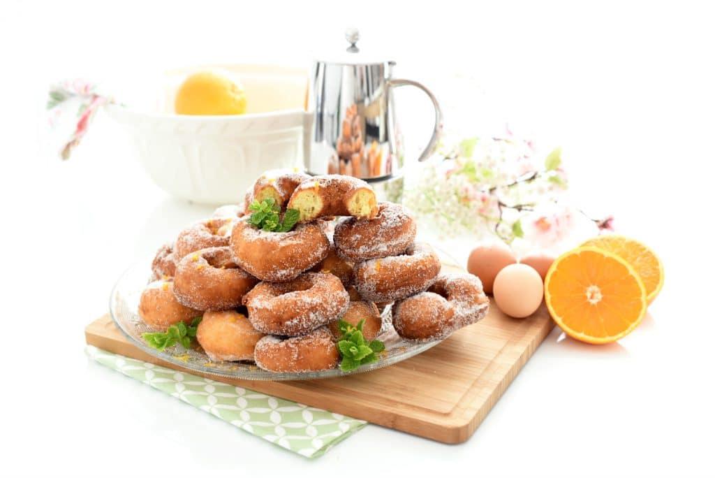 Rosquillas de naranja con Thermomix®