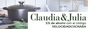 Claudia & Julia: Utensilios para una cocina tradicional y saludable