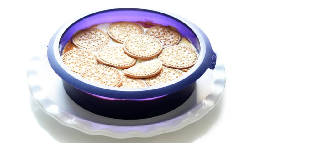 Tarta de queso en molde