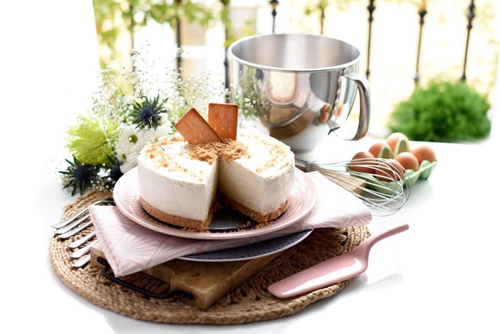 Tarta de leche merengada
