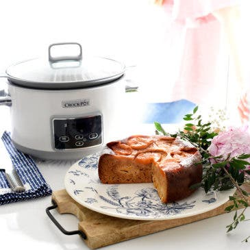 Cake de melocotones en Crock-Pot®