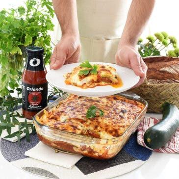 Lasaña de verduras con tomate Orlando Artesano